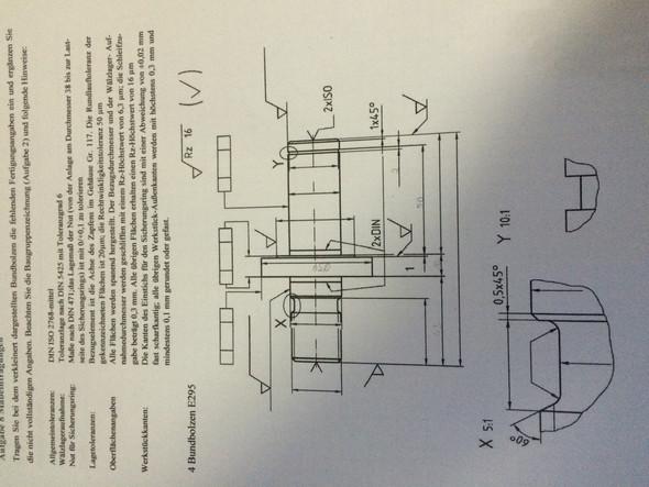 Hilfe - (Technisches Zeichnen, Maßeintragungen)