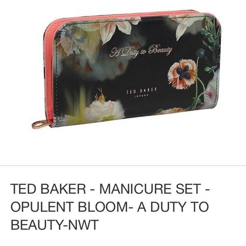 ted baker beispiel (opulent bloom nail care set) - (WOW, Cool, ted baker)