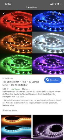 Tedi LED-Band?