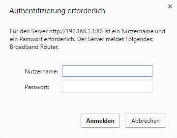 router ports freigeben