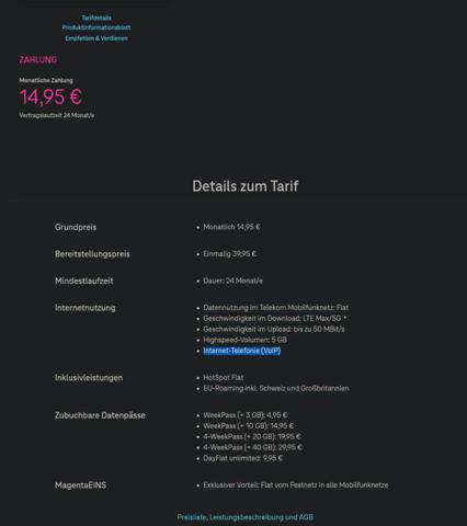 Telekom Data S : Internettelefonie VoIP?