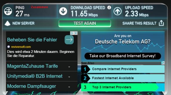 Zusammen - (Internet, Telekom, DSL)
