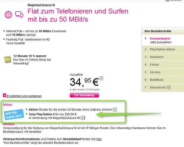 Angebot - (Router, Telekom, LTE)