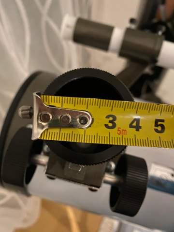 Teleskop okular größe?