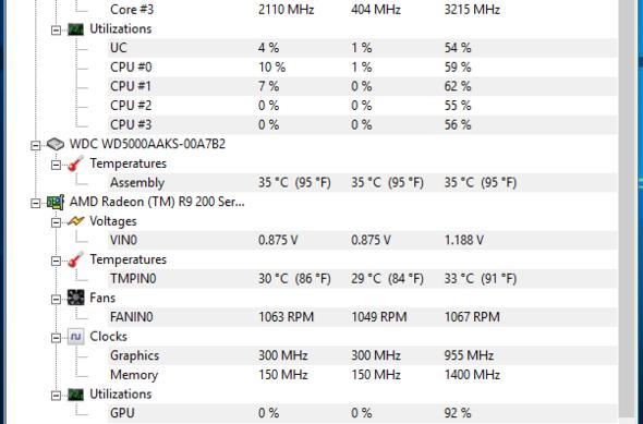 HM Monitor Screenshot 2 - (Computer, Hardware)
