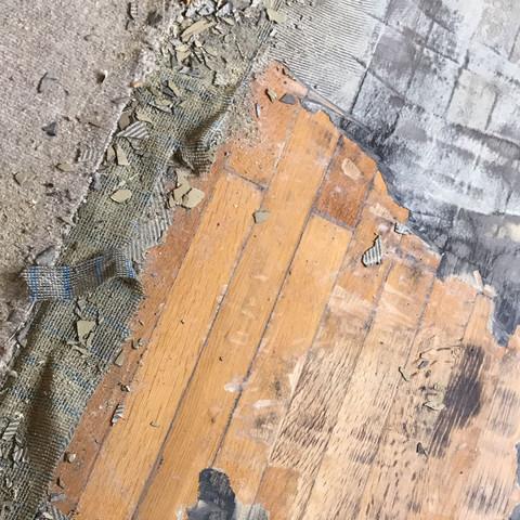 Teppich Kleber Vom Dielenboden Entfernen Holz Renovieren