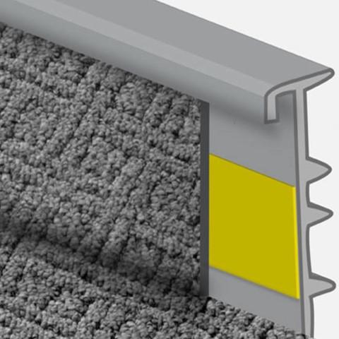 teppichleisten befestigen renovierung teppich heimwerker. Black Bedroom Furniture Sets. Home Design Ideas
