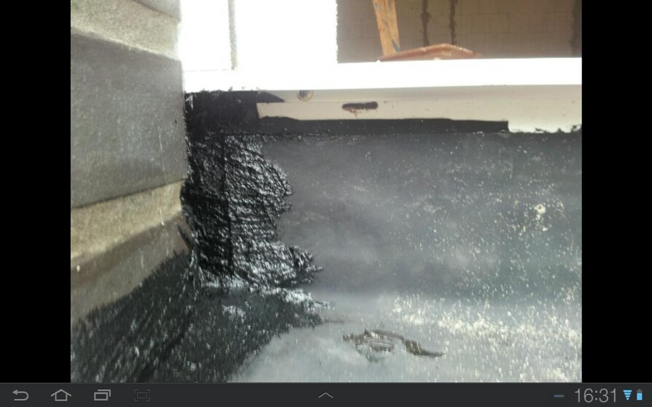 terassentuer abdichtung aussen haus bauen schimmel. Black Bedroom Furniture Sets. Home Design Ideas