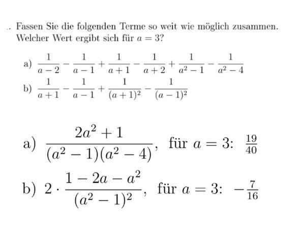 Aufgabe - (Schule, Mathe, Noten)
