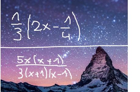 termumformung brüche - (Schule, Mathematik, lernen)