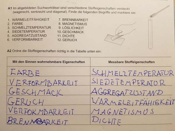 Test zum Thema Aggregatzustände? (Schule, Chemie, Aggregatzustand)