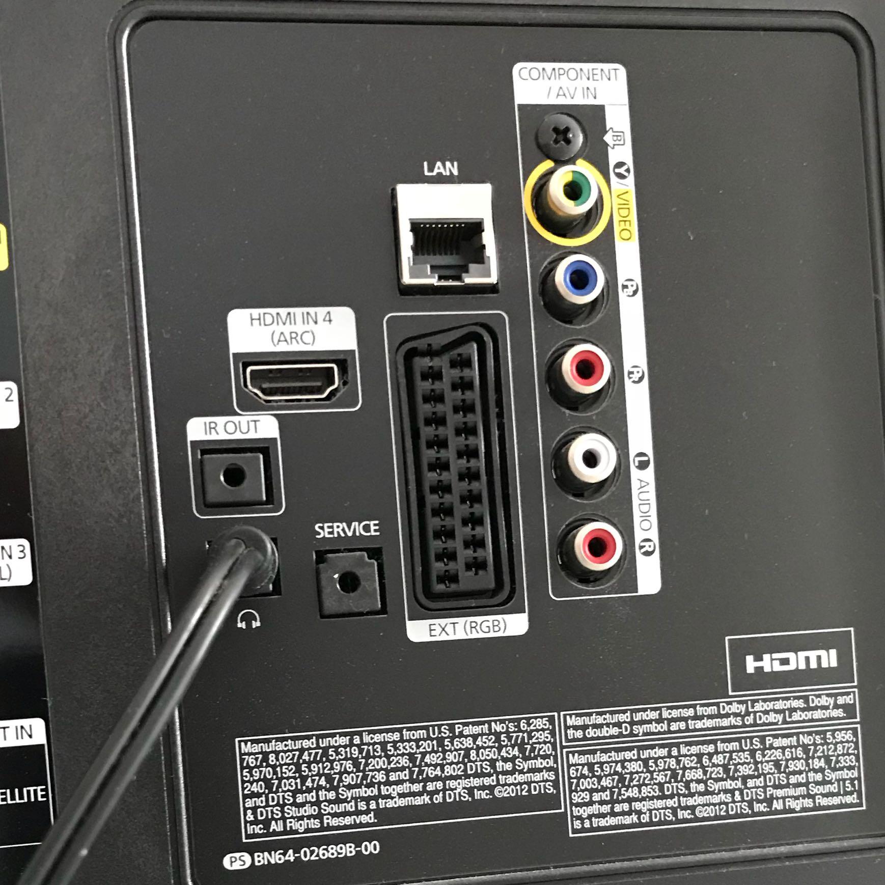 Teufel PC Lautsprecher an Fernseher? (Computer, Musik