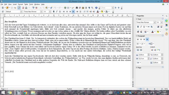 Streiflicht - (Religion, textanalyse, soziales Netz)