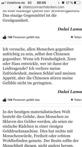 Textauszug Dalai Lama S Siehe Foto Schwingt Da Nicht