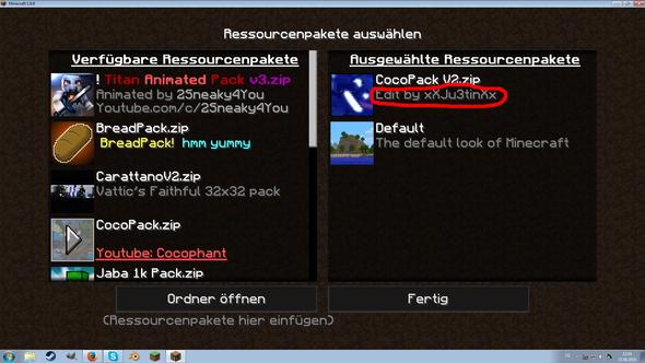 Texturepack Untertitel Verändern Minecraft Texturepack - Minecraft texture pack namen andern