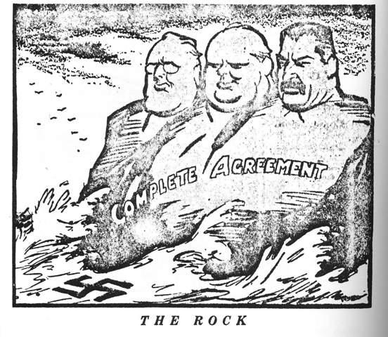 The Rock 1945 Interpretation? (Geschichte)?