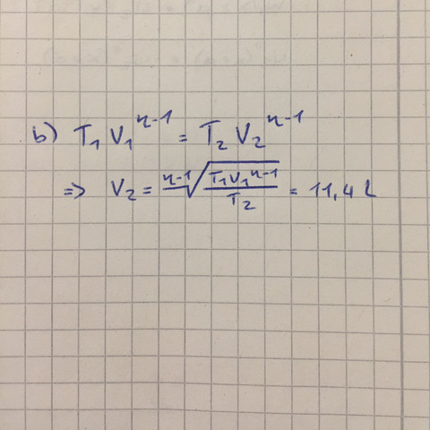 Lösung  - (Physik, Thermodynamik)