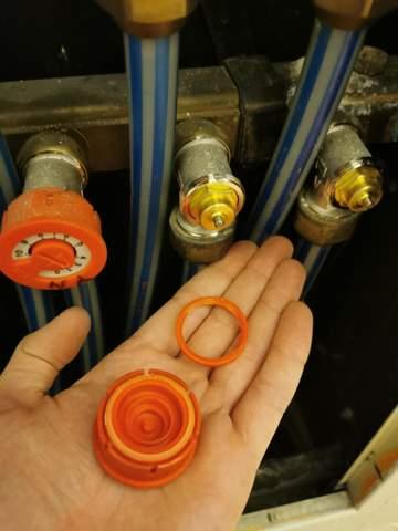 Thermostat für Fußbodenheizung tauschen?