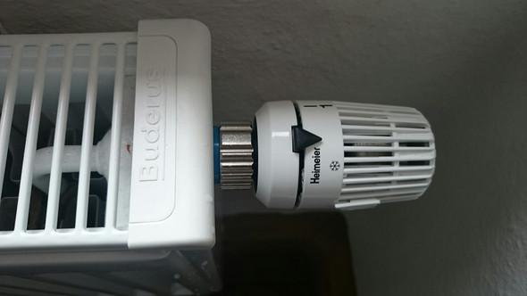 Buderus, Heimeier, Thermostatkopf  - (Wasser, einbauen, abbauen)