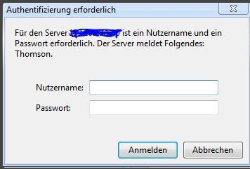 Login - (Internet, Router, Passwort)