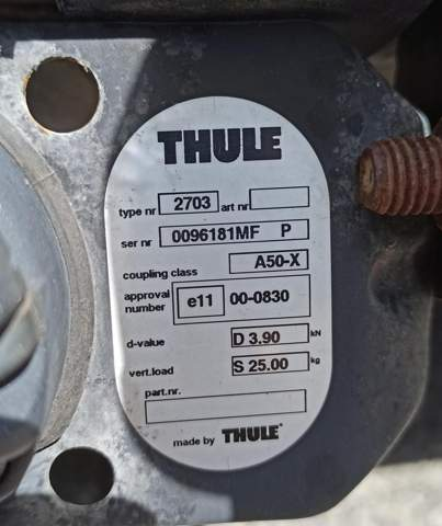 Thule Anhängerkupplung Renault Twingo Bj.2000 Fahrradträger allgemeine Fragen?