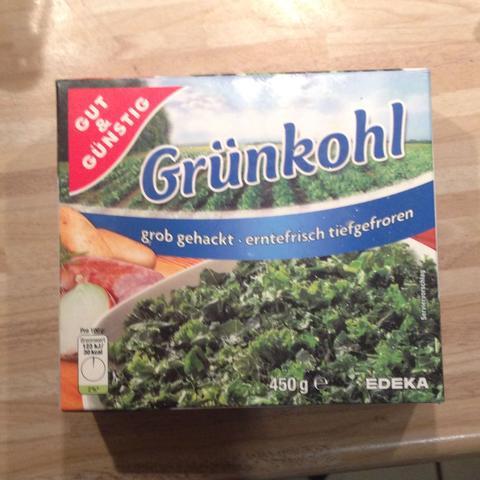 Tiefgefrorener Grünkohl - (Kochen, Rezept, Lebensmittel)