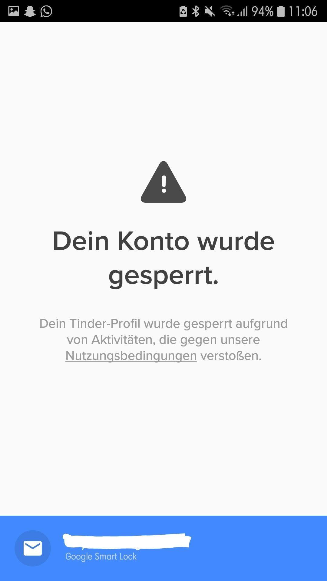 Gelöscht weg tinder matches Tinder matches