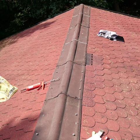 tipps zum abdichten des dach eines waldhaus handwerker heimwerker dachdecker. Black Bedroom Furniture Sets. Home Design Ideas