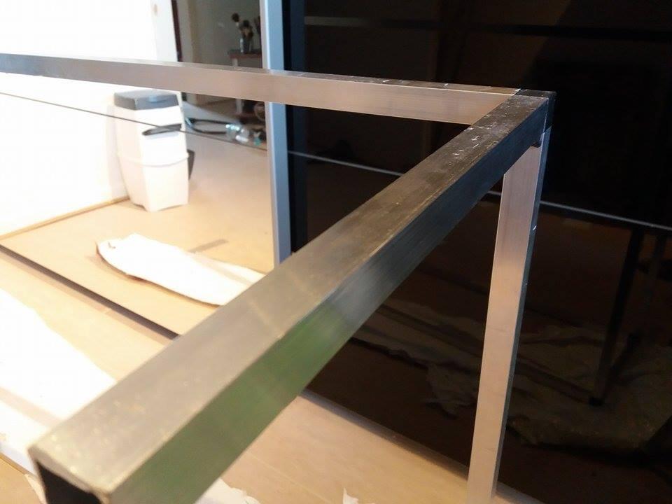 tipps zum demontieren von vierkantrohr verbinder system. Black Bedroom Furniture Sets. Home Design Ideas