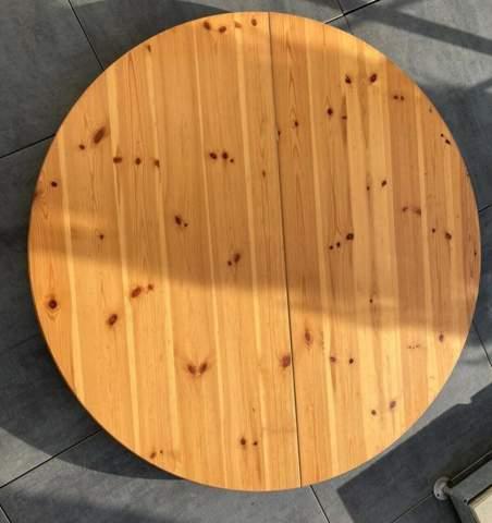 Tisch aus Kieferholz bearbeiten wie?