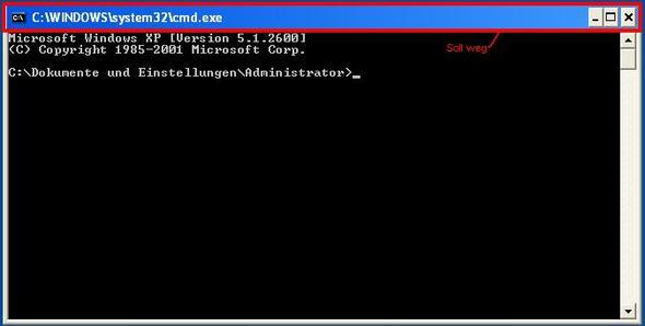 CMD Fenster - (Konsolen, cmd, Batch)