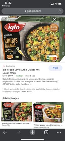 Tk Gemüse-Quinoa abgelaufen- noch essbar?