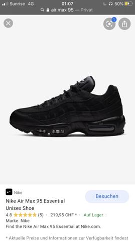 Tn's oder air max 95? (Nike, schuhe kaufen)