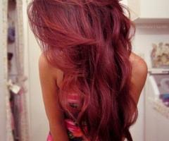 Das ist das Bild zu der Frage (; - (Haare, färben, rot)