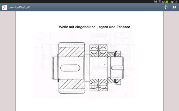 Welle - (Schule, Technik)
