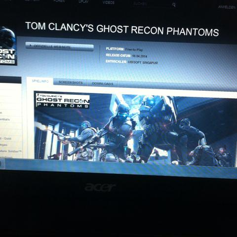 Dieses Spiel - (free-to-play, Ghost Recon)