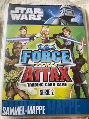 Topps force attax star wars serie 2 Karten was wert?