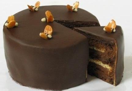 Torten Gleichmassig Und Eben Uberziehen Backen Schokolade Torte