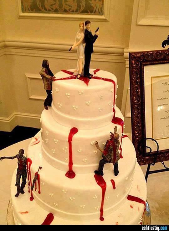 Tortenfiguren Fur Zombiehochzeitstorte Gesucht Hochzeit