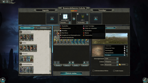 - (Computer, Spiele und Gaming, Total War Warhammer)