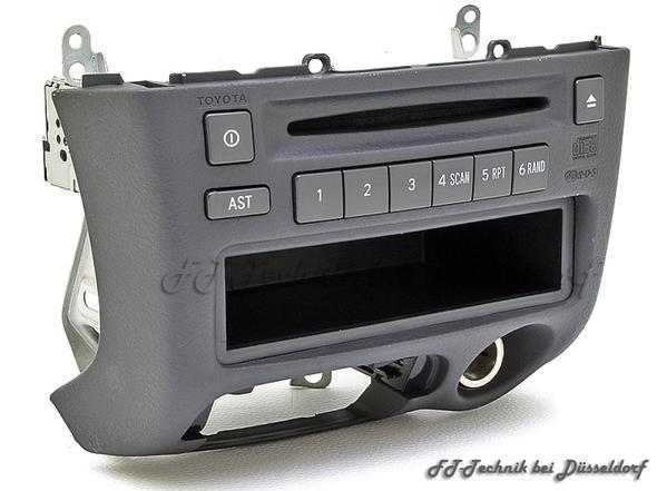 Toyota Yaris  Radio - (Radio, toyota yaris)
