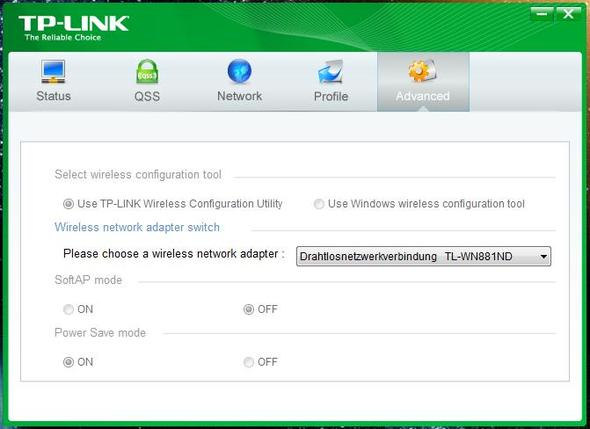 Utility - (PC, WLAN, TP-Link)