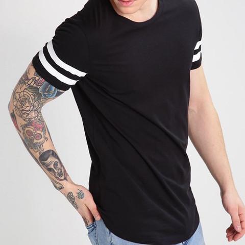 T shirt unten lang - (Mode, Kleidung, Style)