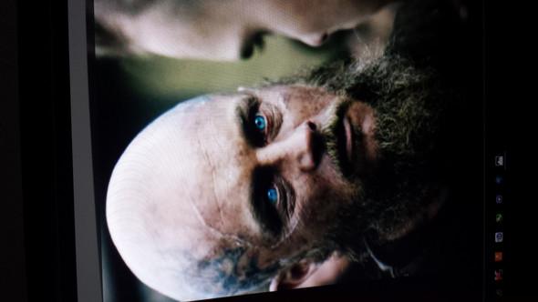 Hier sieht es künstlich aus finde ich - (Serie, vikings, Ragnar)