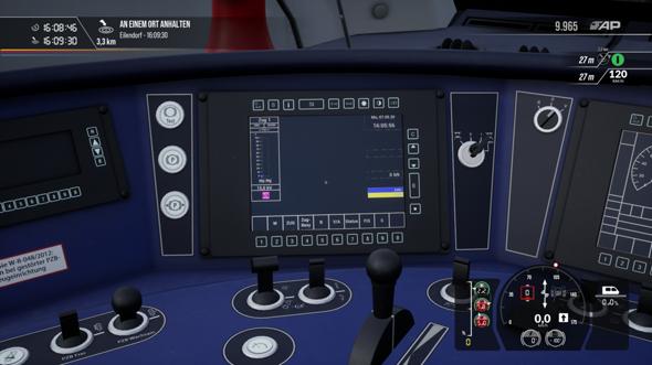 Train Sim World 2 keinerlei Schubkraft nach Laden des Speicherstandes?