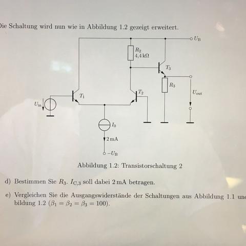 Die aufgabe - (Technik, Elektrotechnik, Schaltung)