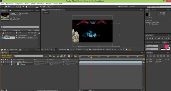 Hintergrund und Video - (Video, transparent)