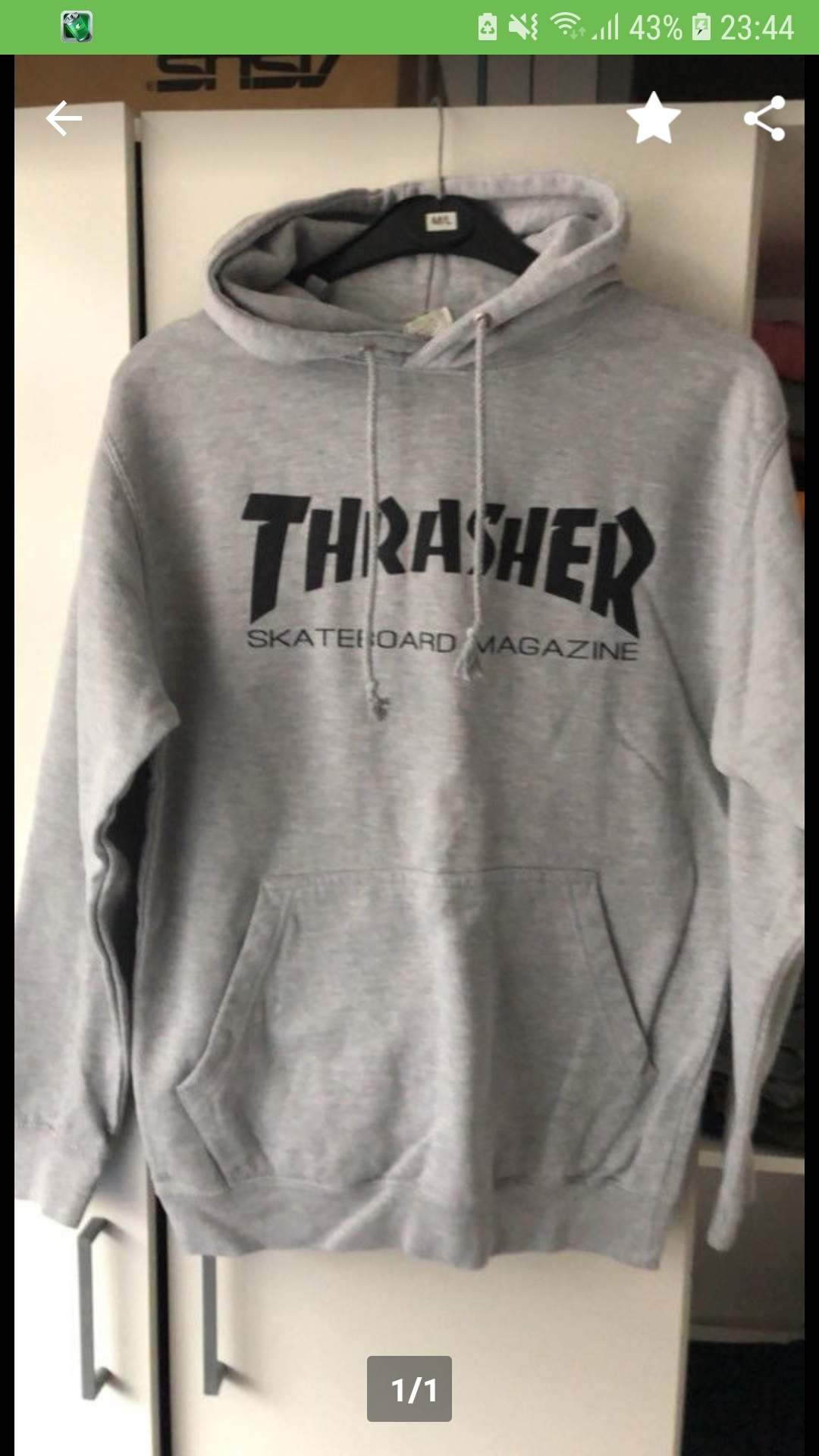 Trasher hoodie original oder fake? (Pullover)