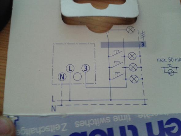 Treppenhaus-Zeitschalter anschliessen, ersetzen von Landis Gyr G3H3 ...