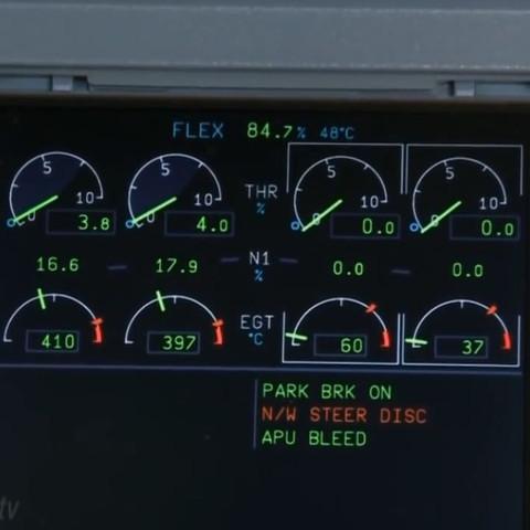 Triebwerke  - (Lufthansa, Airbus)
